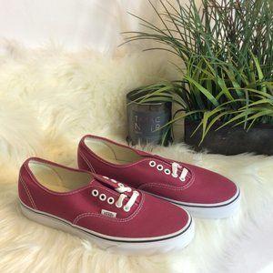 NIB Vans Authentic Dry Rose Unisex Sneakers